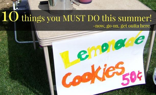 lemonade summer