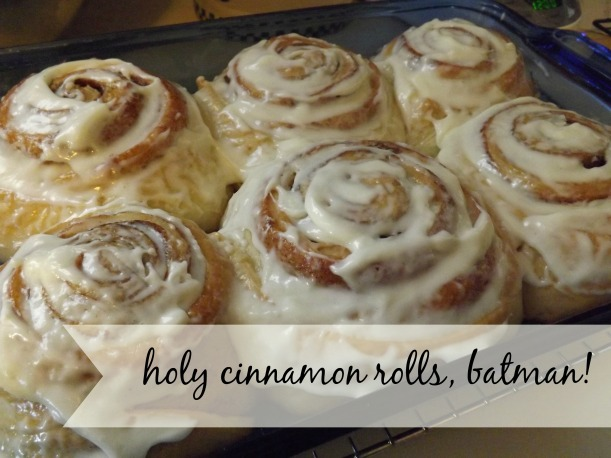 The most delicious cinnamon rolls!